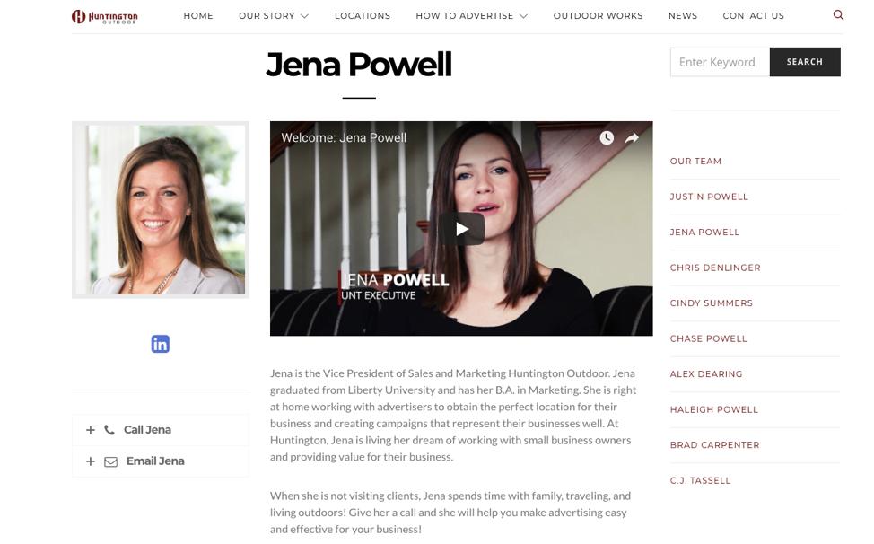 Business Website Team